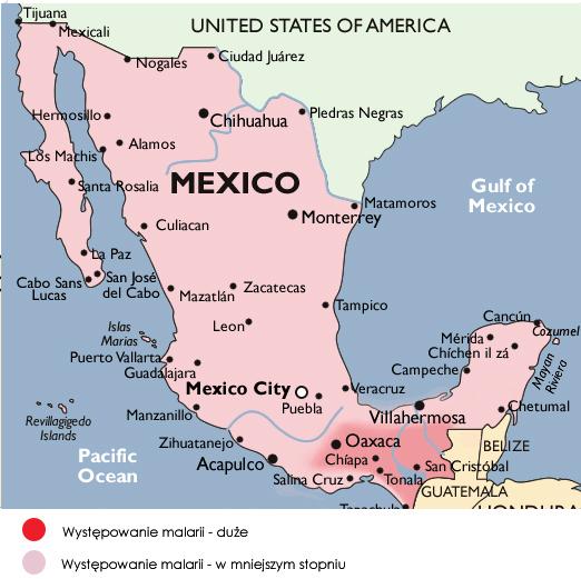 Meksyk Szczepienia Profilaktyka Zdrowotna W Podróży